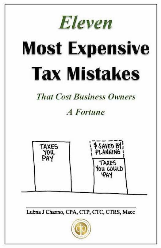 Eleven Most Expensive Tax Mistakes